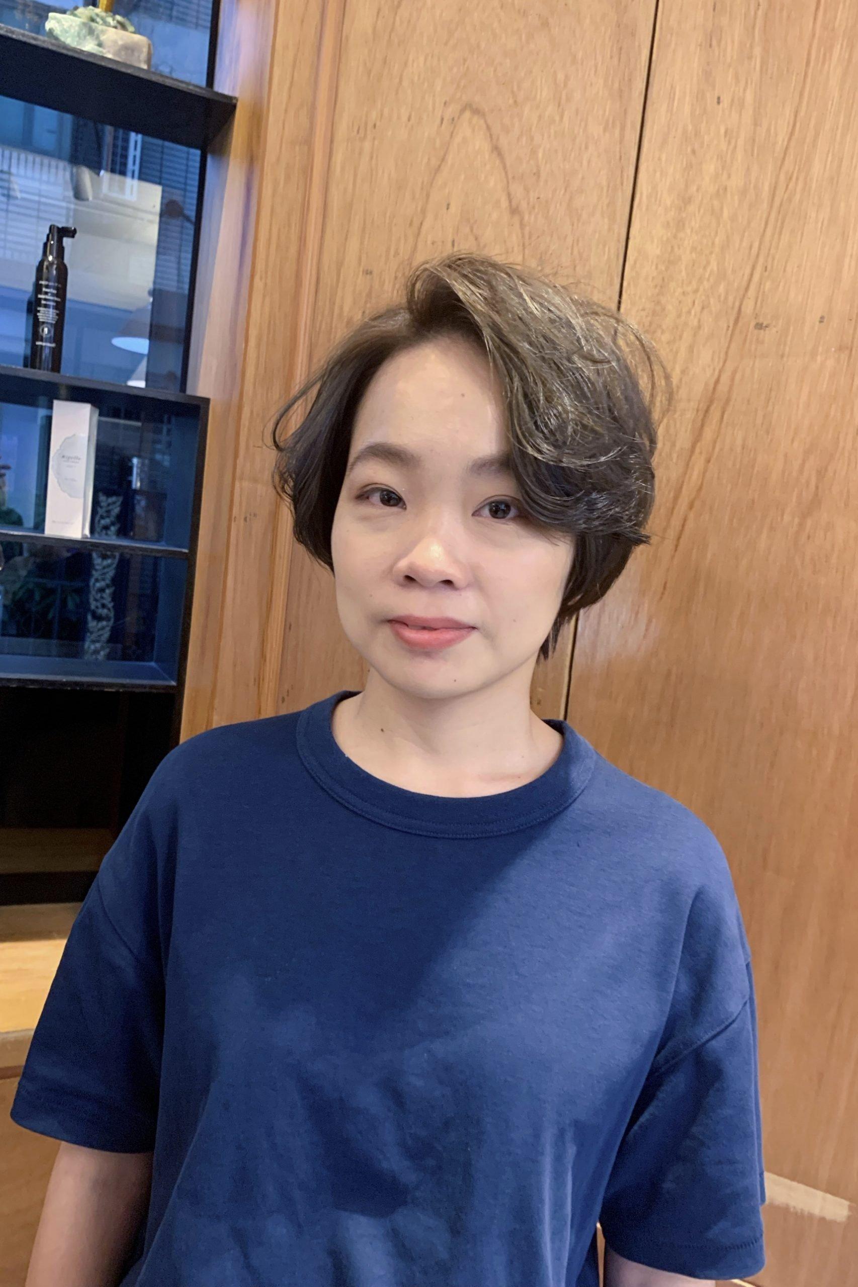 2021女生短髮推薦 | 剪一顆帥氣短髮迎接春天的到來吧 | 中山髮廊in circle