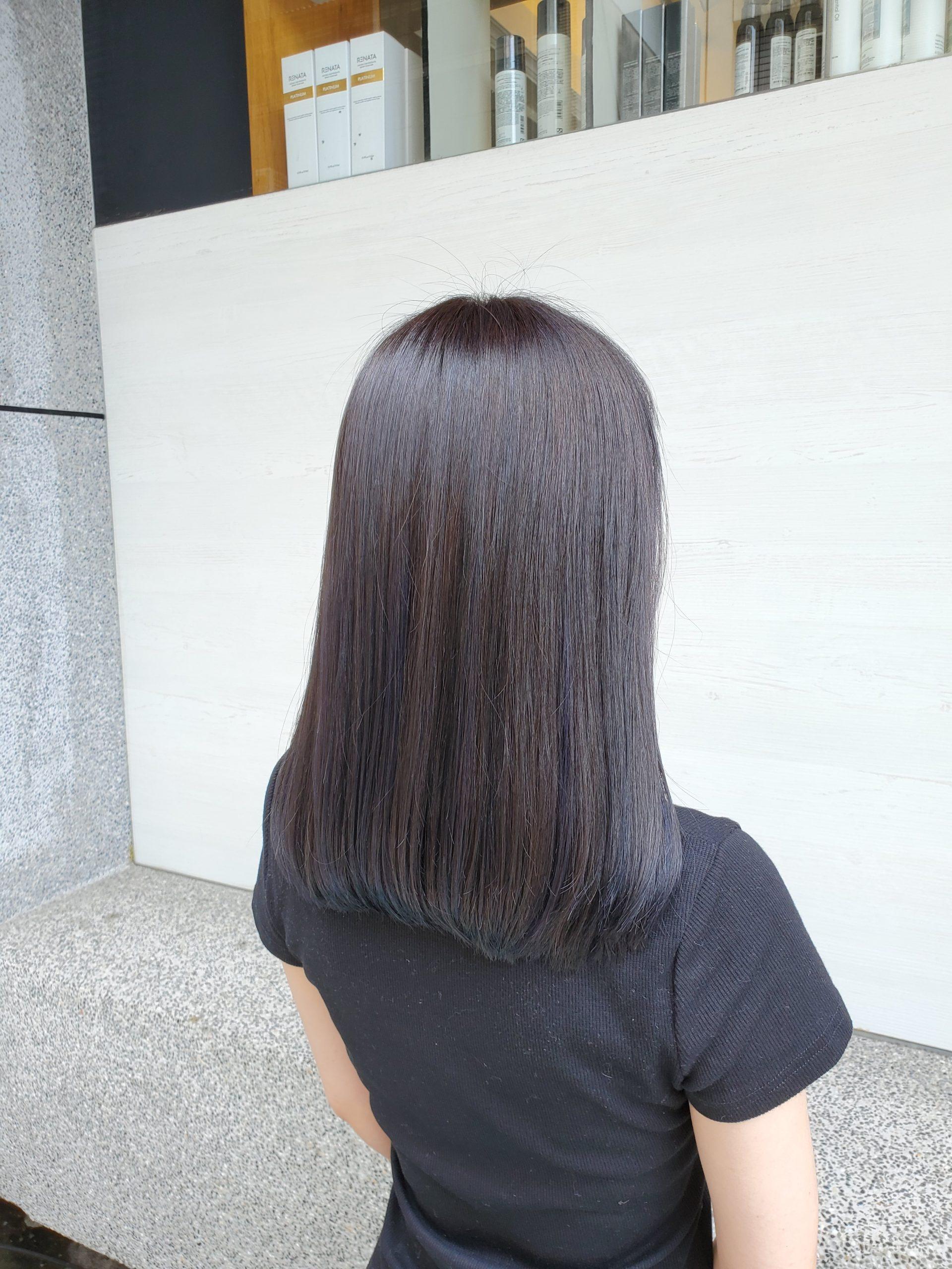 2021髮色推薦  杏桃拿鐵 薰衣草深巧克力色  黑藍色 IncircleZino