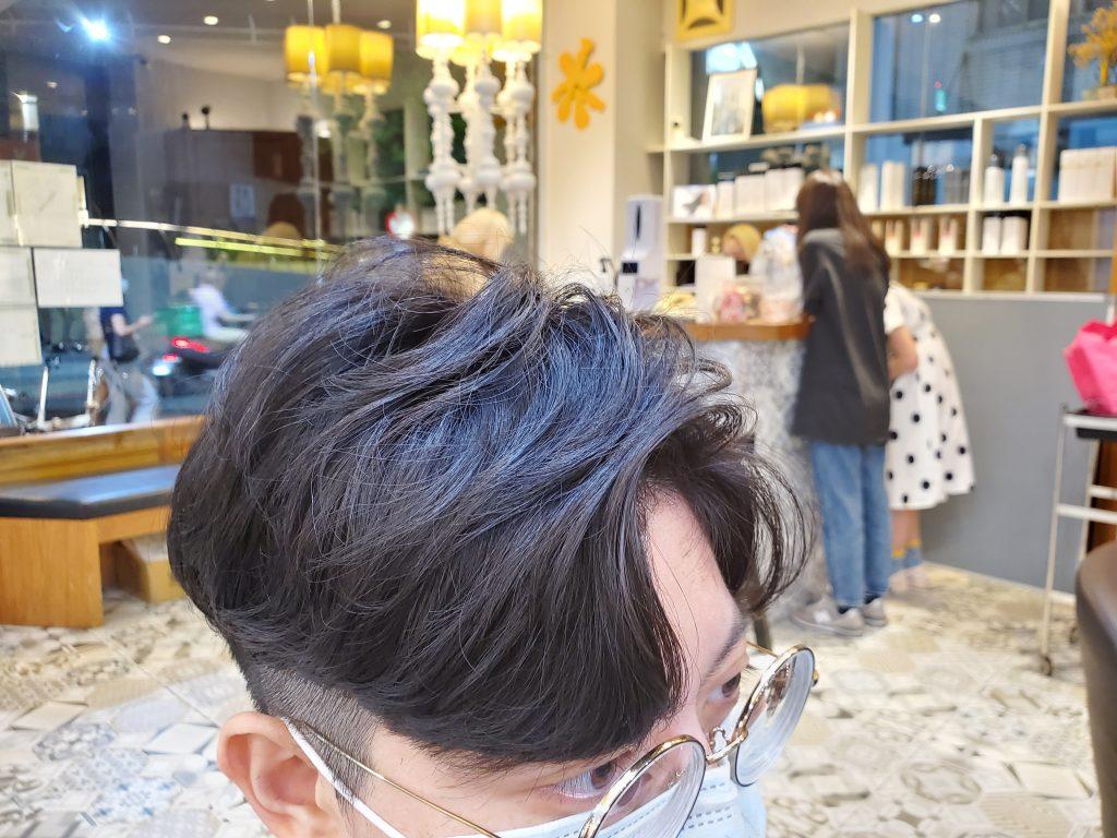2021 男生燙髮